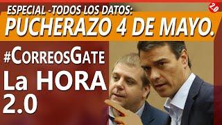 ESPECIAL: PUCHERAZO - Todos los datos #CORREOSGATE  - LA HORA 2.0 MARTES 11 MAYO
