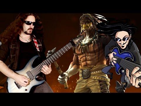 "Killer Instinct - Thunder's Theme ""Epic Rock"" Cover (Little V)"