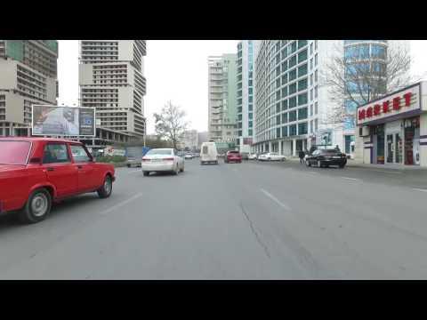 Qafqaz Baku City Hotel & Residence - Otelə gedən yol