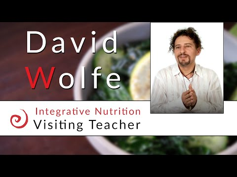 Raw Food with David Wolfe, Integrative Nutrition Guest Speaker