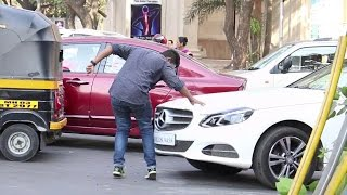 Invisible Object Prank - Narrowly Escaped Car Accident