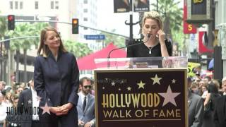 Kristen Stewart speech at Jodie Foster Ceremony Hollywood Walk of Fame