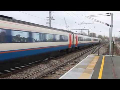 EMT CLASS 222 Leaves West Hampstead Thameslink