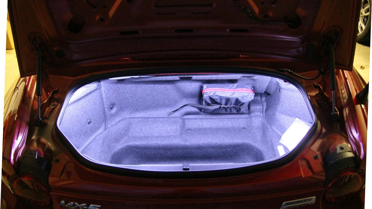 2016 Mazda Miata MX-5 adding Trunk LEDs