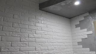 Декоративная плитка, камень в интерьере кухни и прихожей. Фотоотчет о ремонте. Бугульма(, 2016-04-08T09:37:14.000Z)