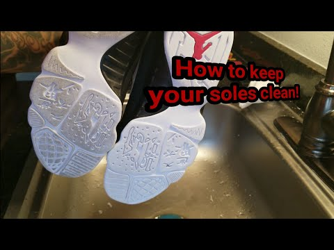 How to keep your soles clean and Icy💯💯💯💯