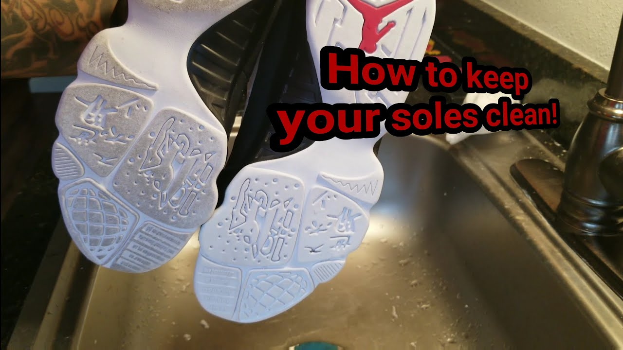 How to keep your soles clean and Icy