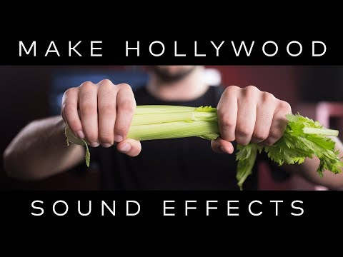 FOLEY: How Hollywood Sounds Effects Are ACTUALLY Made!