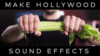 FOLEY: How Hollywood Sounds Effects Are ACTUALLY Made!   Filmora Workshop Series Ep. 1