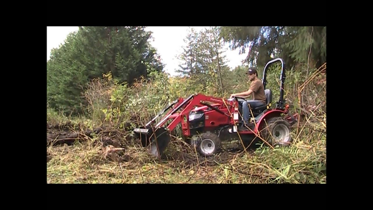 Mahindra Max 24 Clearing Brush And Other Shenanigans