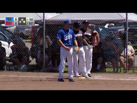 Sooke Loggers vs. New Zealand Black Sox - Game 1 - June 24th, 2017