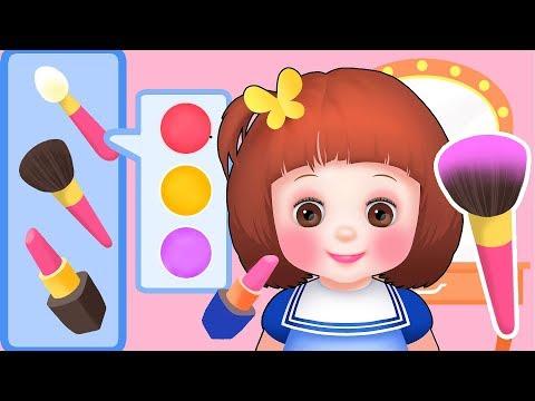 Baby Doli make up dress up play baby doll toys
