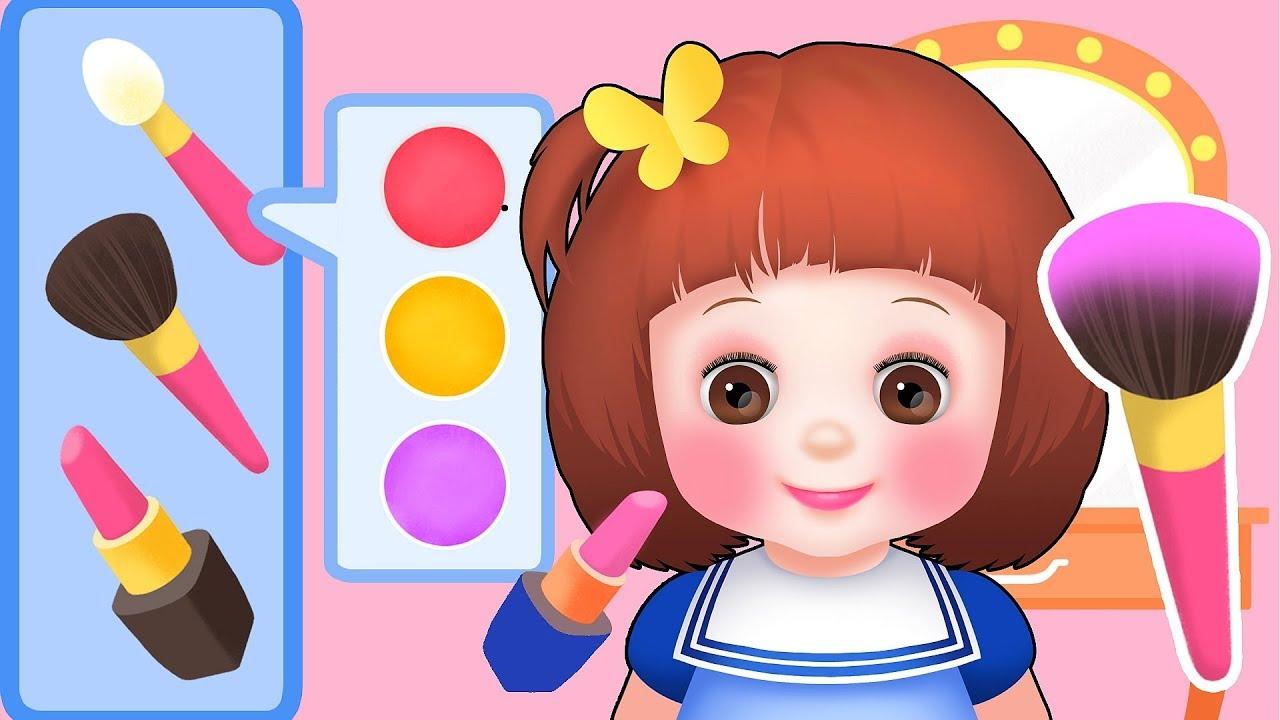 Baby Doli Make Up Dress Up Play Baby Doll Toys Youtube