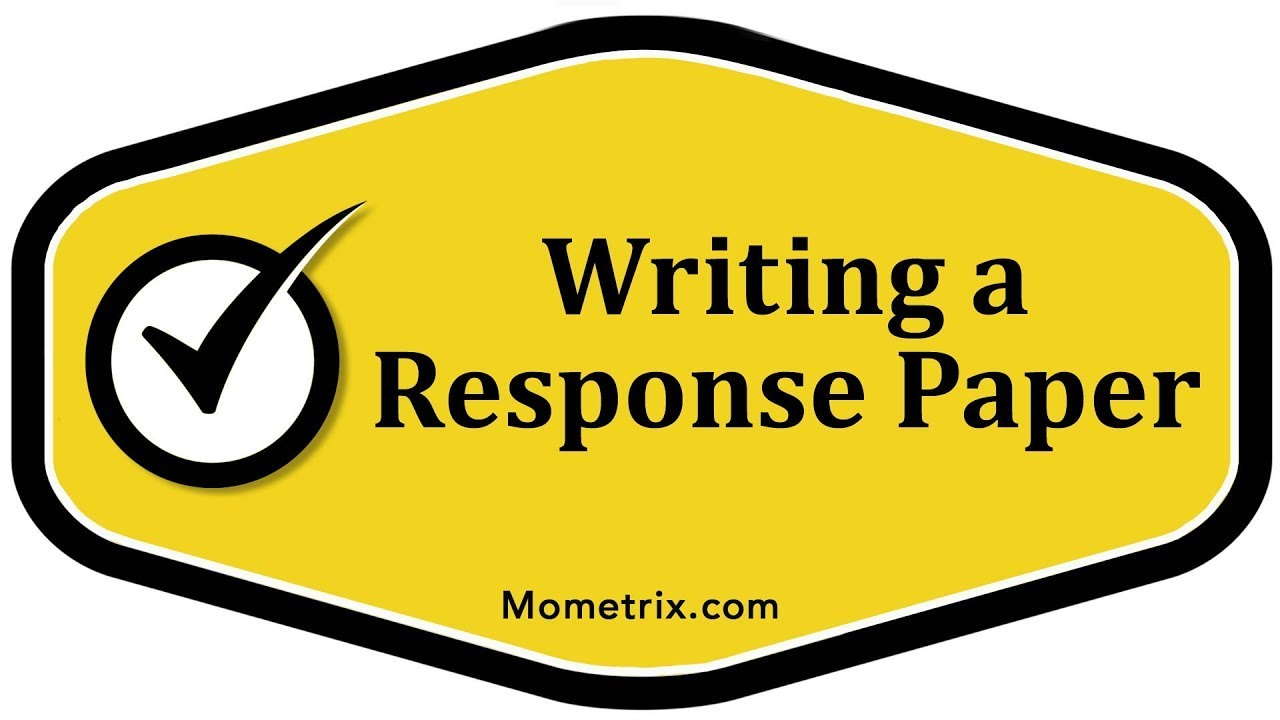 what is response paper