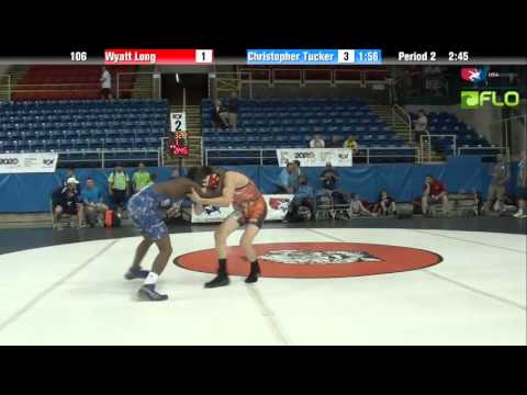 Cadet 106 - Wyatt Long (Pennsylvania) vs. Christopher Tucker (Illinois)