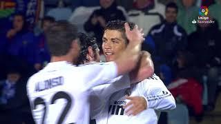 Resumen de Getafe CF vs Real Madrid (2-4) 2009/2010