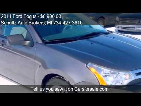 2011 Ford Focus SE 4dr Sedan for sale in Livonia, MI 48150 a