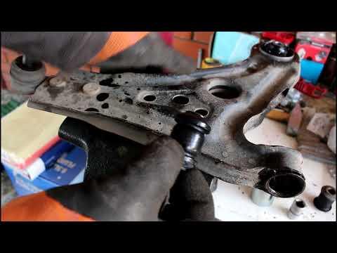 Замена сайлентблоков переднего рычага Chevrolet Aveo Шевроле Авео 2009 года