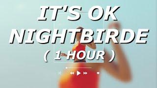 NIGHTBIRDE - It's Okay (Lyrics) 1 HOUR LOOP