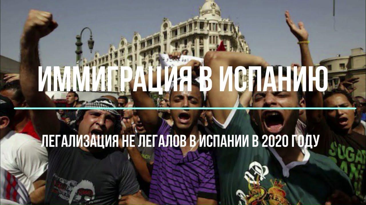 Испания ЛЕГАЛИЗИРУЕТ НЕЛЕГАЛОВ и выдает РАЗРЕШЕНИЕ НА РАБОТУ.