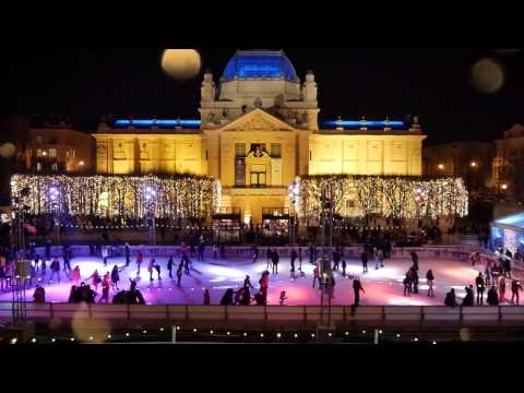 Ice Park on King Tomislav Square