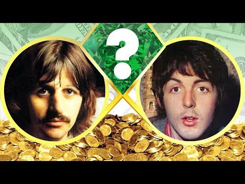 WHO'S RICHER? - Ringo Starr Or Paul McCartney? - Net Worth Revealed! (2017)