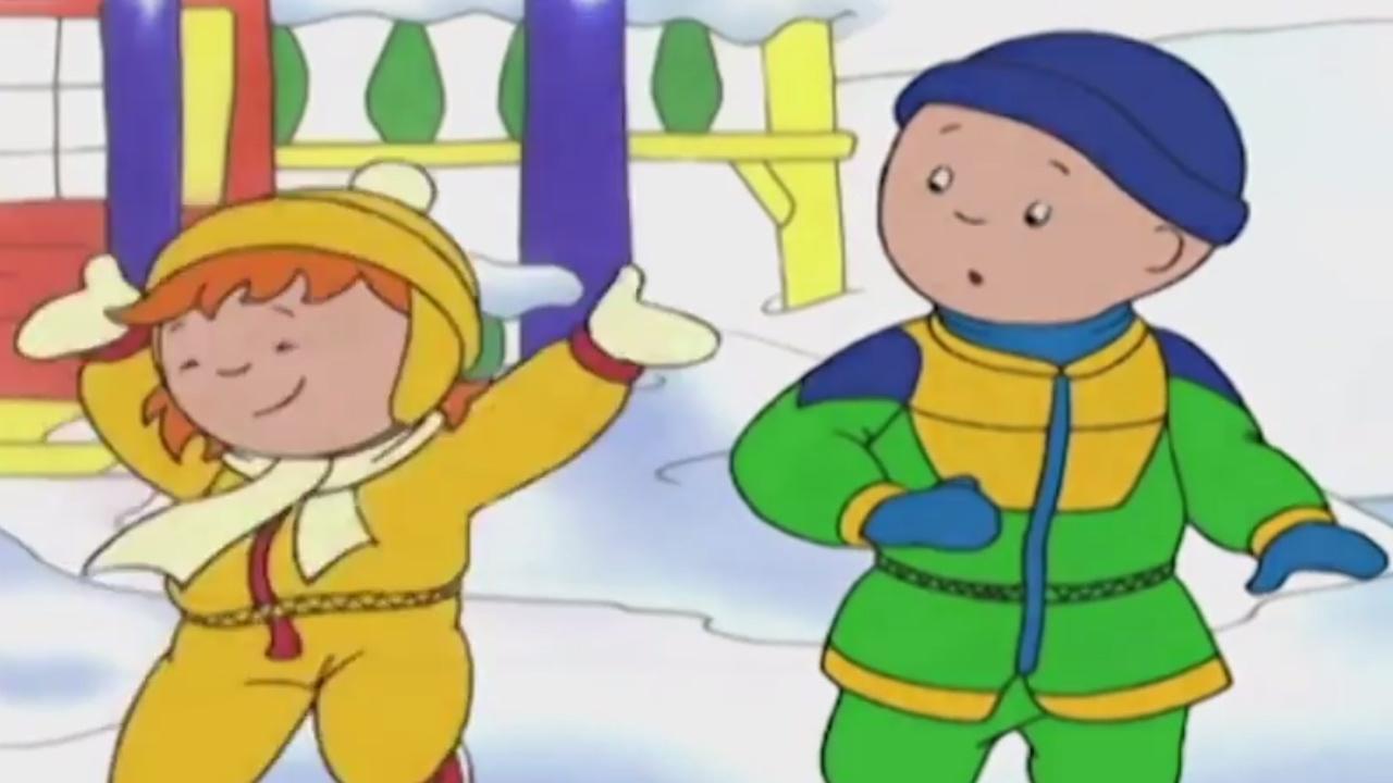 Cartoon fran ais caillou en fran ais caillou et les pompiers dessin anim complet en - Dessin caillou ...