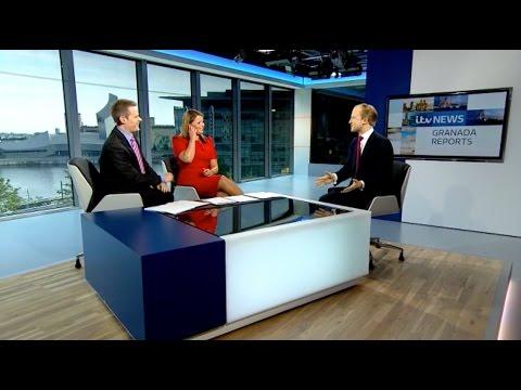 ITV Granada Reports - Afternoon tea etiquette & studio interview with William Hanson