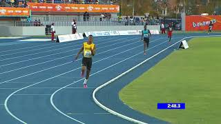 2018 Carifta Games Boys U17 4x400m