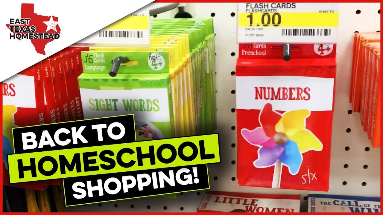 Inexpensive Homeschool Back to School Supplies for Preschoolers and ...