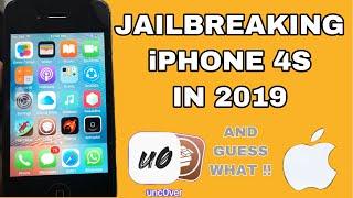 JAILBREAKING iPHONE 4S IN 2019 !!