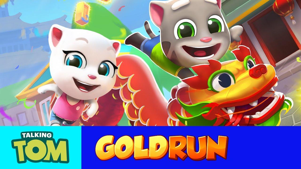 NEW in Talking Tom Gold Run - Tom Celebrates in China (Gameplay)
