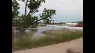 Flood in Ft./Pierre, South Dakota, June 2011 (Most Recent)