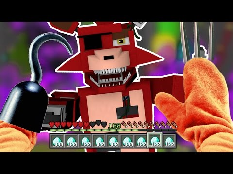 Realistic Minecraft - BECOMING FNAF NIGHTMARE FOXY !? - (Minecraft Roleplay)