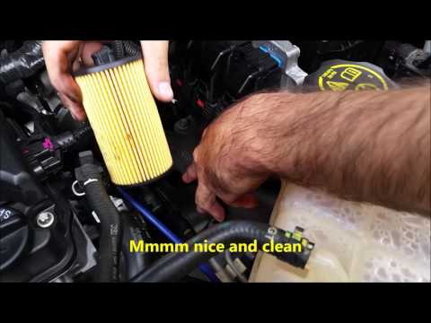 Chevy Cruze Oil Change Step By Step Doovi