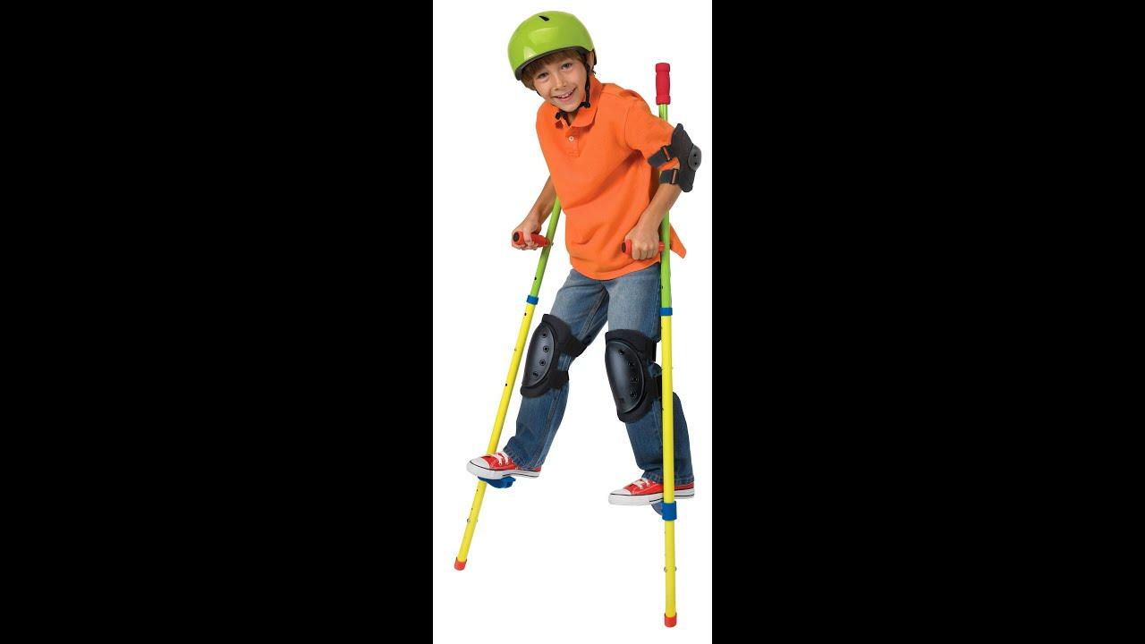 Red ALEX Super GO Stilts
