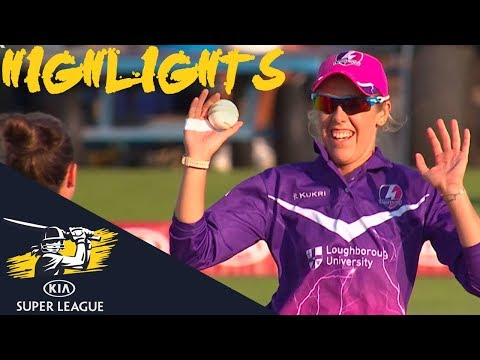 Devine Strikes With The Ball | Vipers v Lightning | Kia Super League 2018 - Highlights