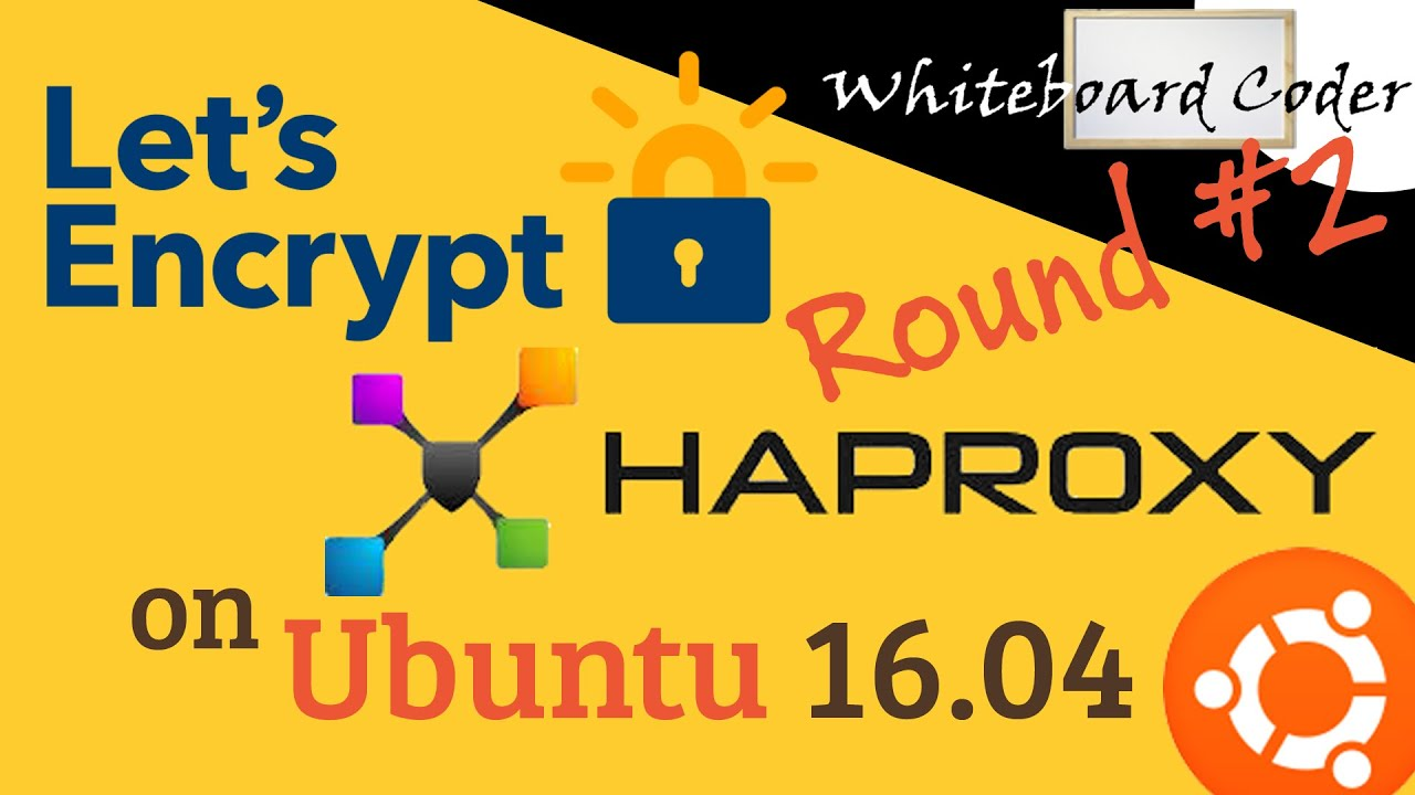 Let's Encrypt HAProxy on Ubuntu 16 04 this time with Auto Update SSL cert  Script