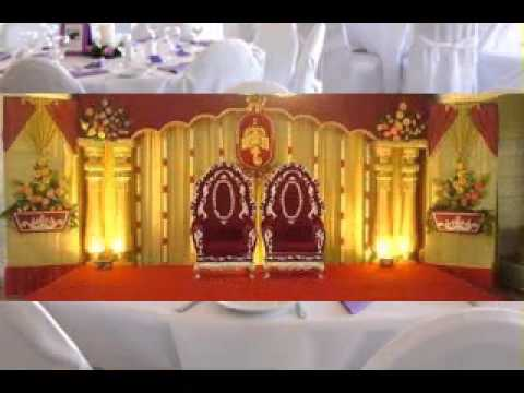 Simple Wedding hall decorating ideas - YouTube
