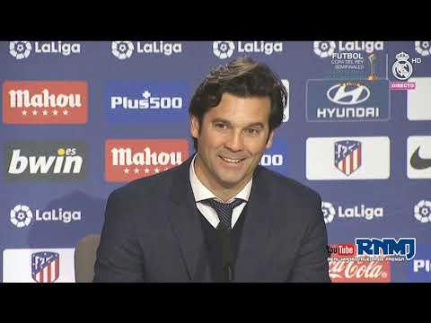 Rueda de prensa de SOLARI post Atlético de Madrid 1-3 Real Madrid - Jornada 23 (09/02/2019) - 동영상