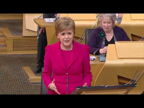 First Minister's Questions - Scottish Parliament: 2nd March 2017