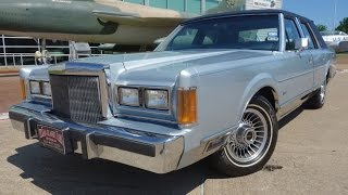 Classic 1989 Lincoln Town Car experience