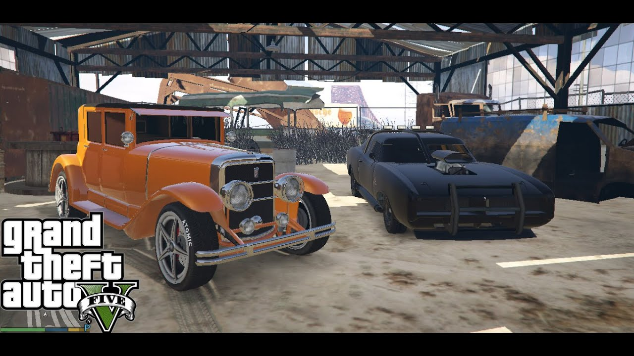 GTA 5 ✪ Rare Cars PC - Story Mode - Offline - Single Player