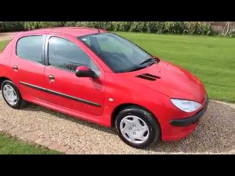 2002 peugeot 206 lx red youtube. Black Bedroom Furniture Sets. Home Design Ideas