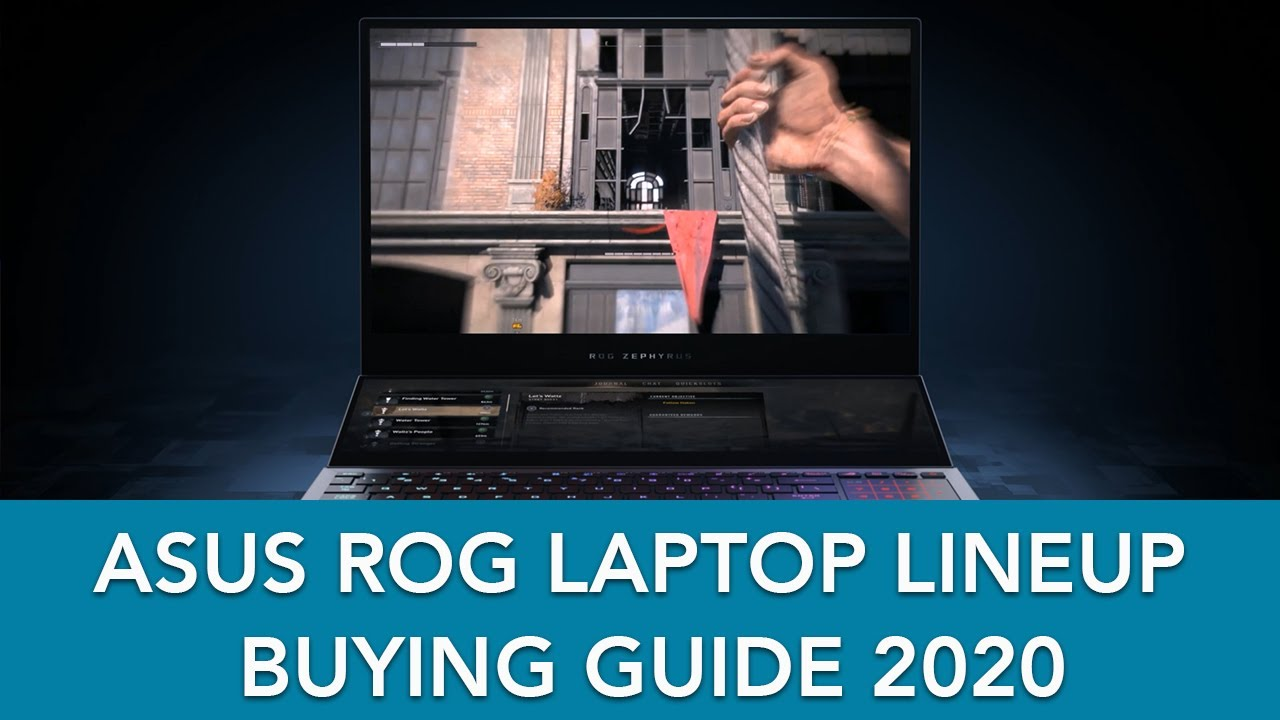 Geek's Guide: ROG Gaming Laptops - 2020 Edition - Geek Culture