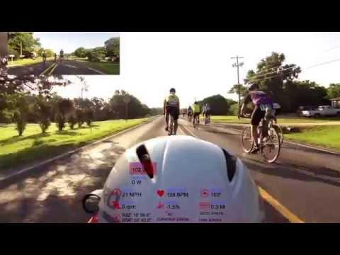 Tour de Italia, start to rest stop #1