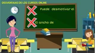 Cursos Online ventajas y desventajas