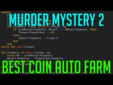 MURDER MYSTERY 2 | HACK/SCRIPT | BEST COIN AUTO FARM 2020