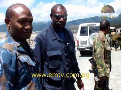 Illegal Miners at Enga Arrested