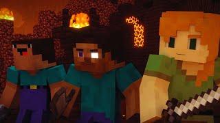 Darkside - Minecraft song animation   Darkside - Майнкрафт клип песня